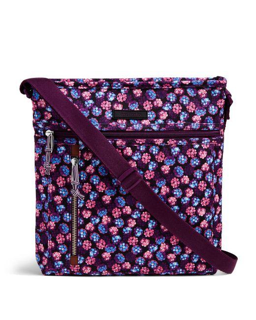 Vera Bradley | Purple Lighten Up Travel-ready Cross-body Bag | Lyst