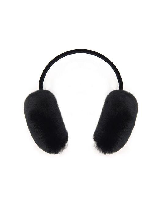 Veronica Beard - Black Rabbit Earmuff Glamourpuss - Lyst