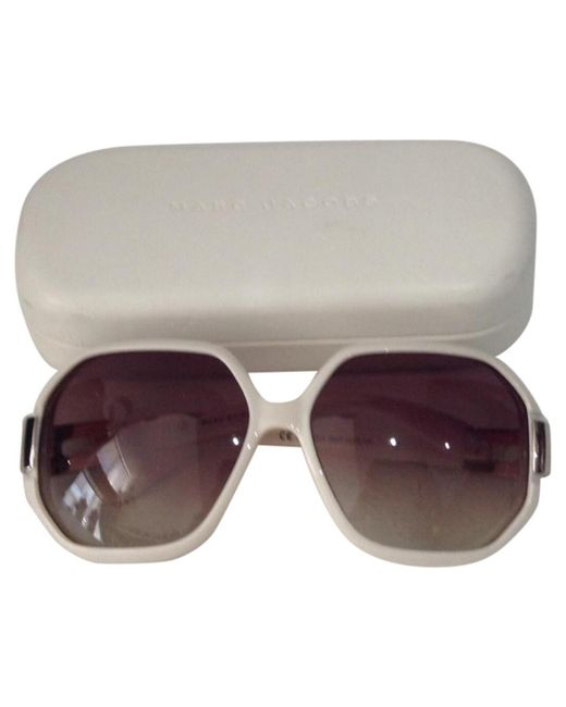 Marc By Marc Jacobs - Natural Beige Plastic Sunglasses - Lyst