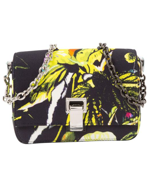 Proenza Schouler | Multicolor Pre-owned Small Courier Leather Crossbody Bag | Lyst