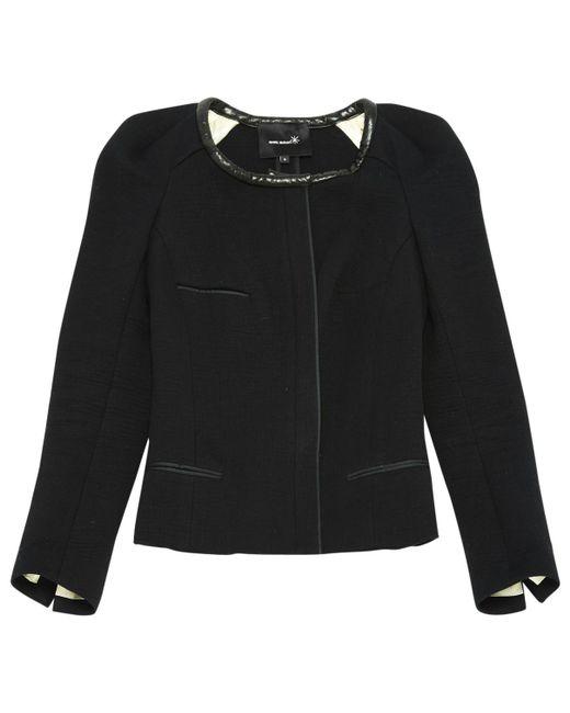 Isabel Marant - Black Cotton Jacket - Lyst