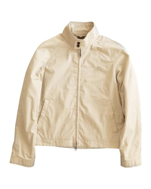 Burberry - Natural Jacket - Lyst