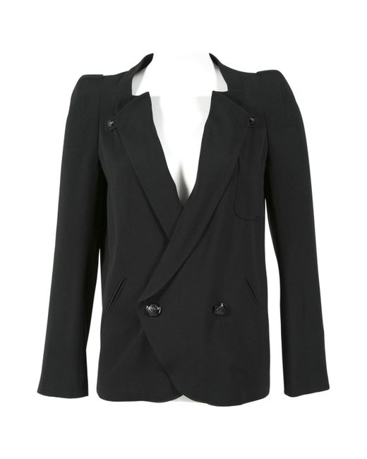 Vanessa Bruno - Black Pre-owned Jacket - Lyst