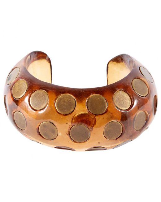 Chloé - Brown Pre-owned Bracelet - Lyst