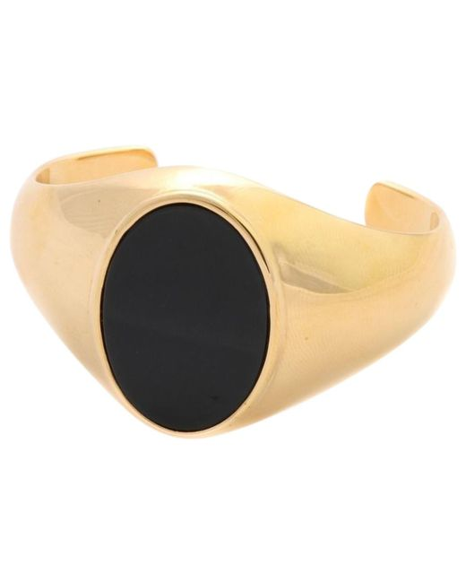 Chloé - Metallic Gold Metal Bracelet - Lyst