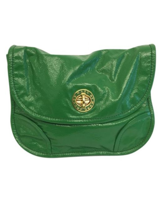 Marc By Marc Jacobs - Green Patent Leather Handbag - Lyst