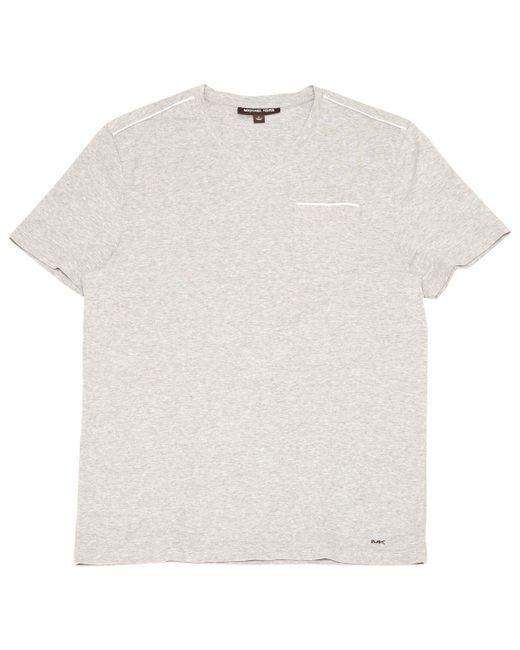 Michael Kors - Gray Grey Cotton T-shirts for Men - Lyst
