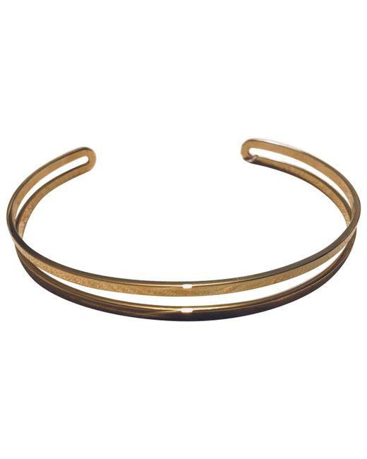 Maison Margiela - Metallic Pre-owned Necklace - Lyst