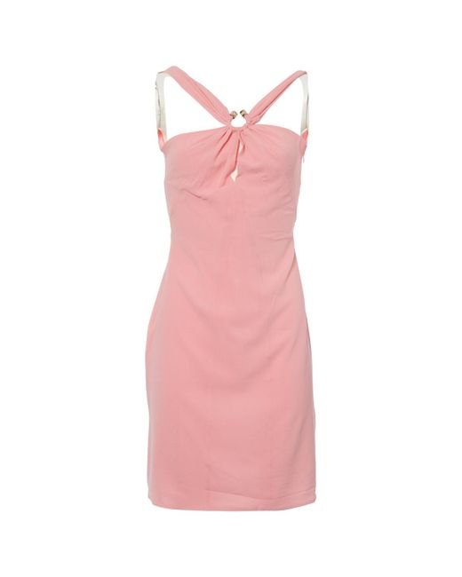 5658a9ec Women's Pre-owned Pink Silk Dresses