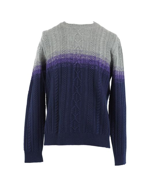 Etro | Blue Pre-owned Wool Pull for Men | Lyst