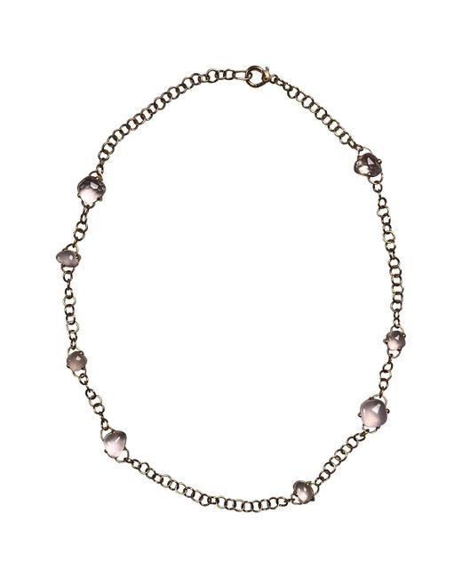 Pomellato - Capri Pink Gold Necklace - Lyst
