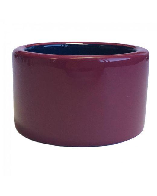 Hermès - Pre-owned Purple Wood Bracelet - Lyst