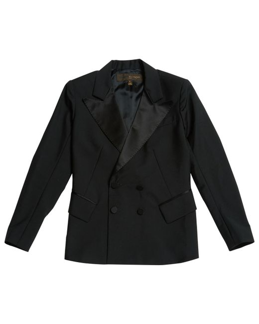 Louis Vuitton - Black Wool Blazer - Lyst