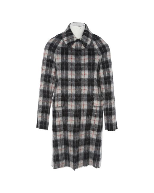 Louis Vuitton | Multicolor Pre-owned Wool Coat | Lyst