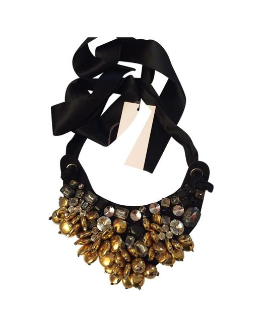Marni - Metallic Pre-owned Necklace - Lyst