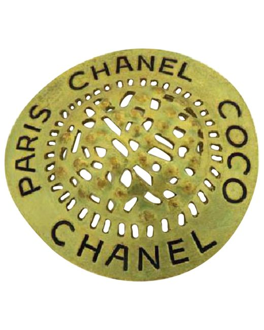 Chanel - Metallic Pin & Brooche - Lyst