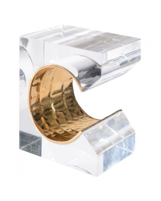 Roberto Cavalli | Metallic Pre-owned Gold Plastic Bracelet | Lyst
