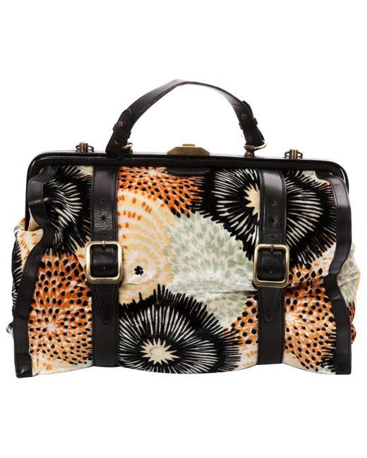Missoni - Multicolor Pre-owned Velvet Handbag - Lyst