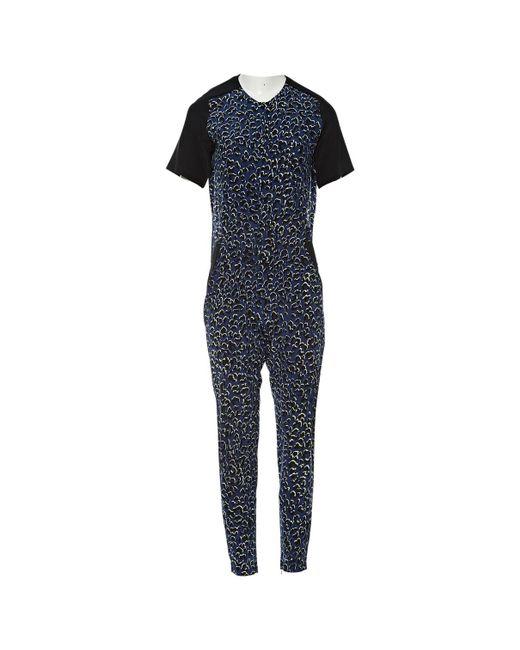Barbara Bui - Blue Silk Jumpsuits - Lyst