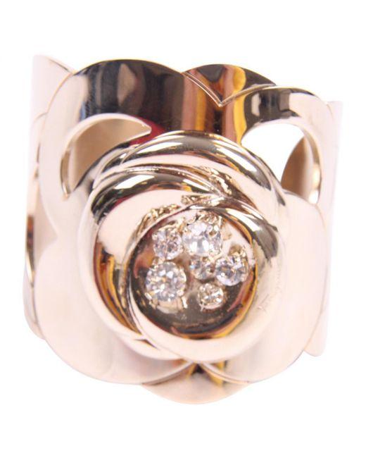 Ferragamo - Metallic Gold Metal Bracelets - Lyst