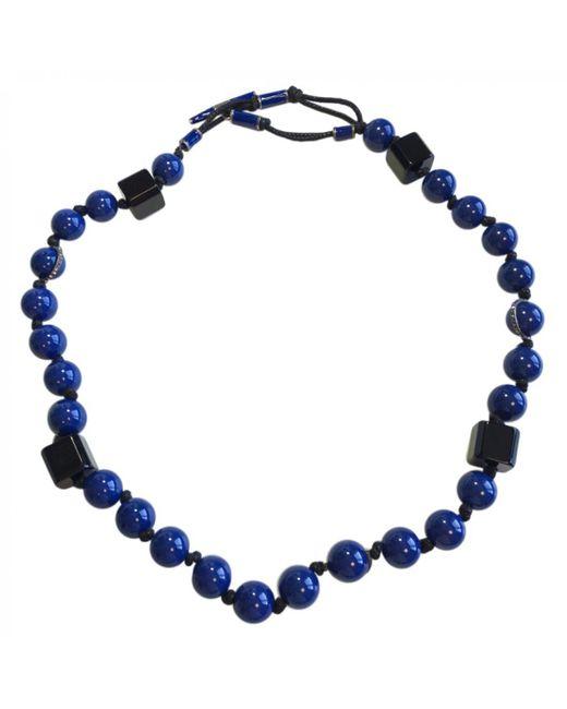 Lanvin - Blue Plastic Necklace - Lyst