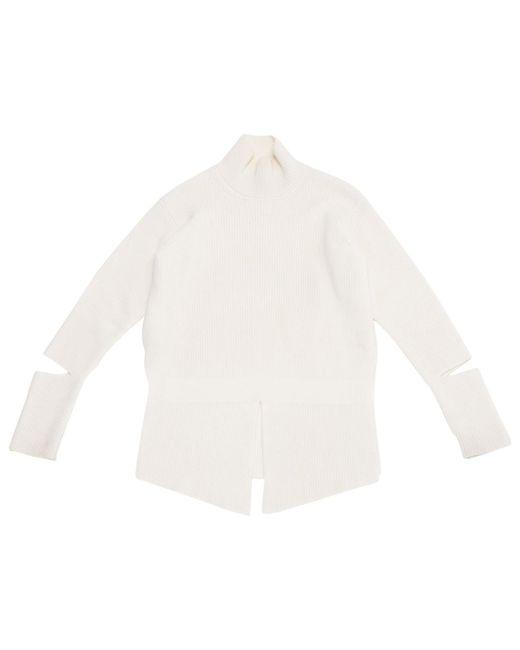 Stella McCartney - White Pre-owned Wool Jumper - Lyst