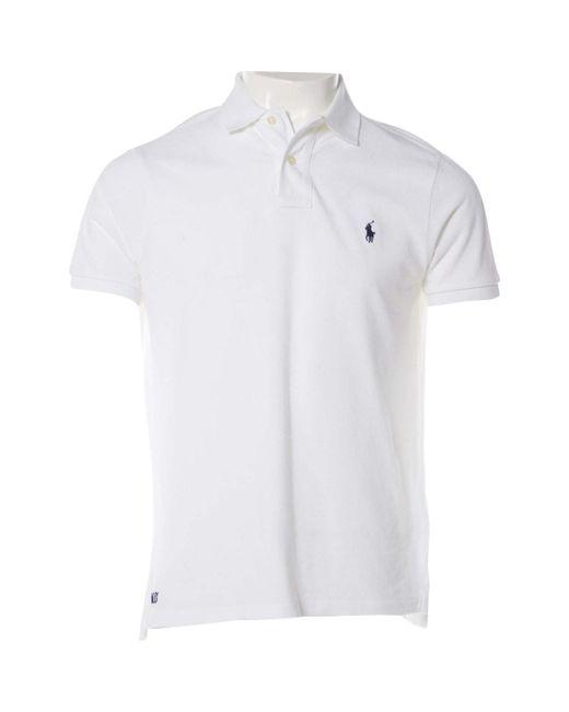 Polo Ralph Lauren - White Cotton - Lyst