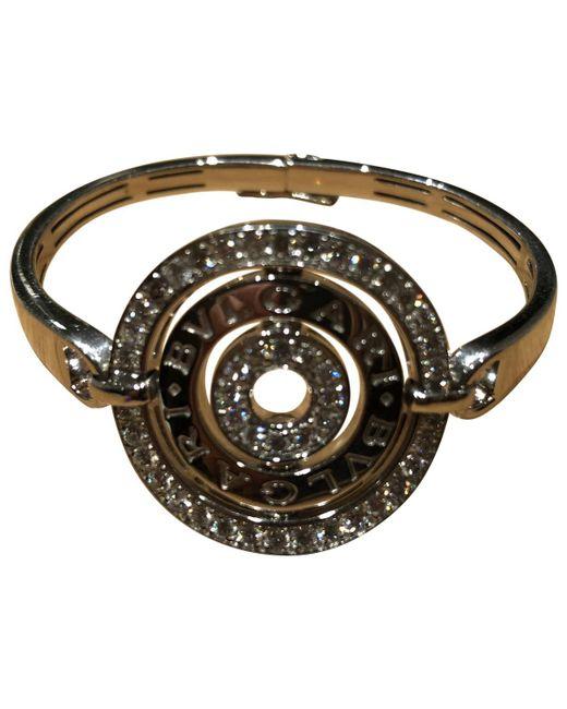 BVLGARI - Metallic Astrale Silver White Gold Bracelets - Lyst