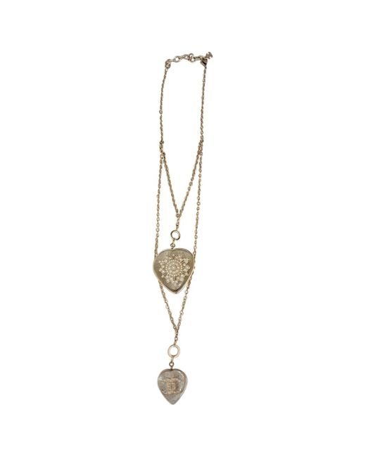 Chanel - Metallic Gold Metal - Lyst