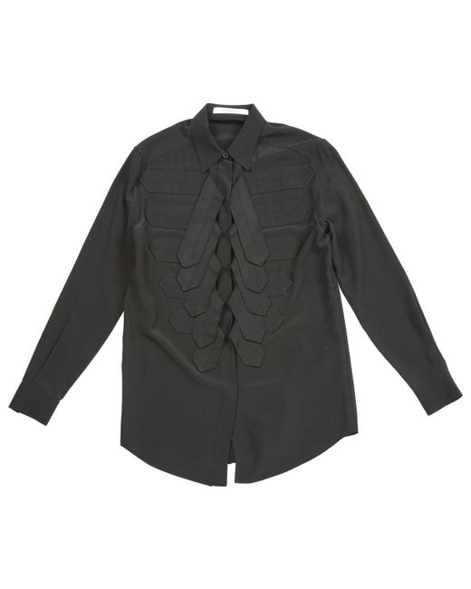 Givenchy - Black Silk Shirt - Lyst