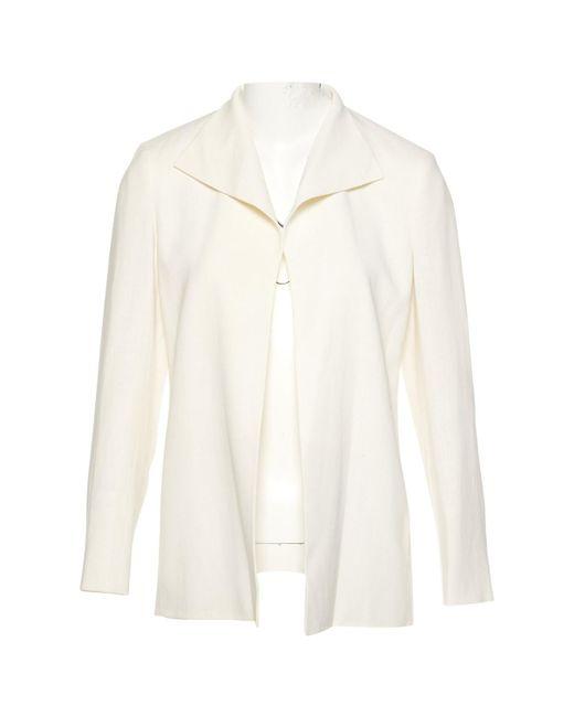 Hermès - Natural Vintage Beige Linen Jacket - Lyst