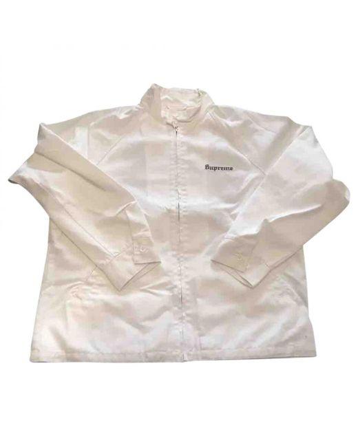 Supreme   White Jacket for Men   Lyst