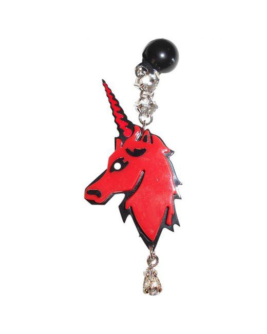 Miu Miu | Red Pre-owned Earrings | Lyst