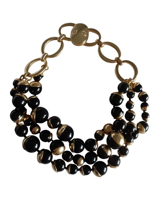 Dior | Metallic Pre-owned Ultra Necklace | Lyst