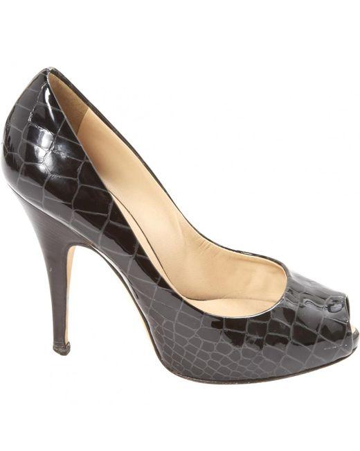 Giuseppe Zanotti - Black Patent Leather Heels - Lyst