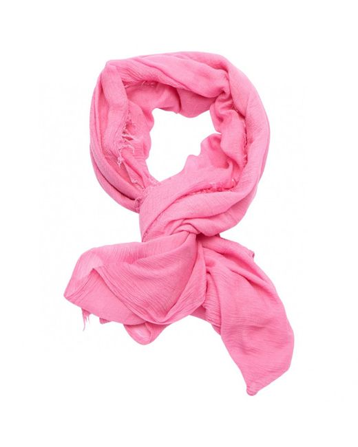 Étoile Isabel Marant | Pre-owned Pink Silk Scarf | Lyst