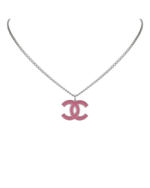 Chanel | Metallic Necklace | Lyst