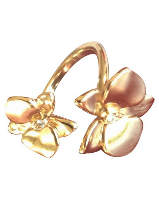 Cartier - Metallic Pink Gold Ring - Lyst