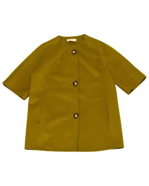 Michael Kors - Pre-owned Green Wool Coats - Lyst