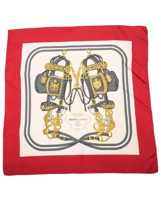 Hermès - Multicolor Multicolour Silk Silk Handkerchief Carré - Lyst