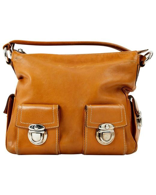 Pre-owned - Leather bag Marc Jacobs
