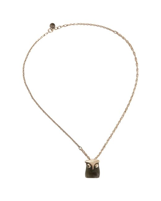 Chloé - Metallic Pre-owned Necklace - Lyst