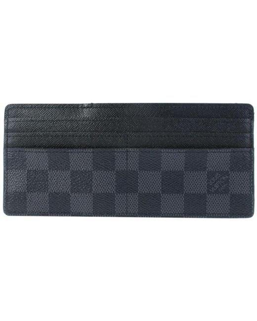Louis Vuitton - Blue Cloth Clutch Bag - Lyst