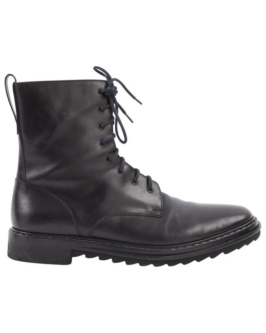 Givenchy - Black Leather Boots for Men - Lyst