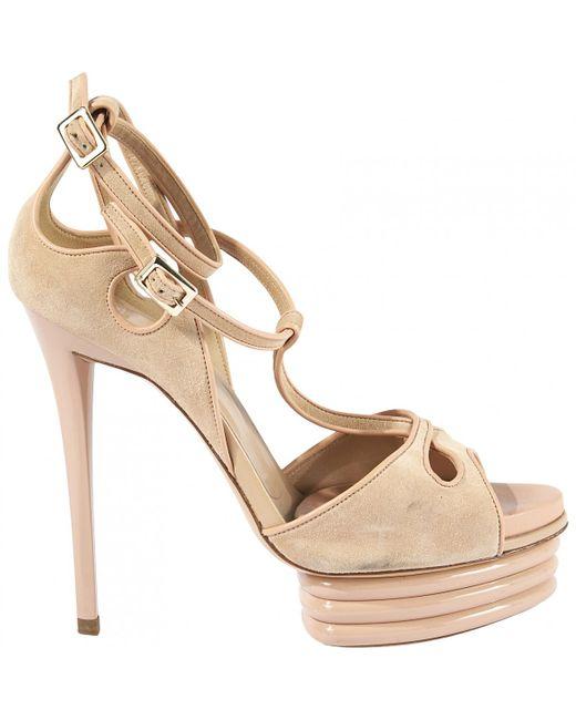 Roger Vivier - Pink Pre-owned Sandals - Lyst