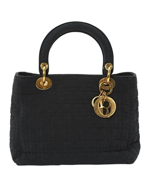 Dior Pre-owned - Lady Dior cloth handbag Rq1OatImzx