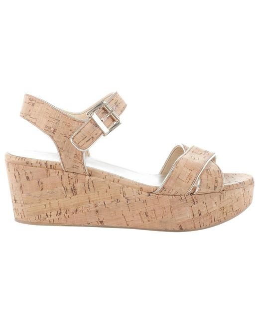 Stuart Weitzman - Natural Pre-owned Beige Other Sandals - Lyst