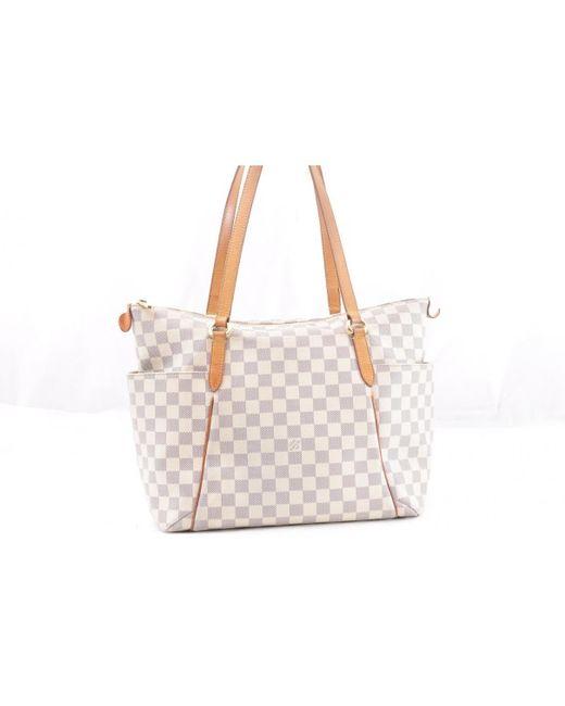 Louis Vuitton - White Totally Cloth Handbag - Lyst c6cf7e3eecc7d
