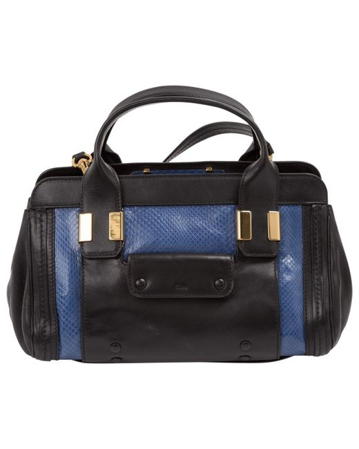 Chloé - Blue Alice Leather Mini Bag - Lyst