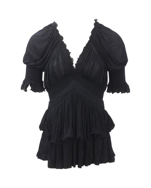 Givenchy | Pre-owned Black Top | Lyst